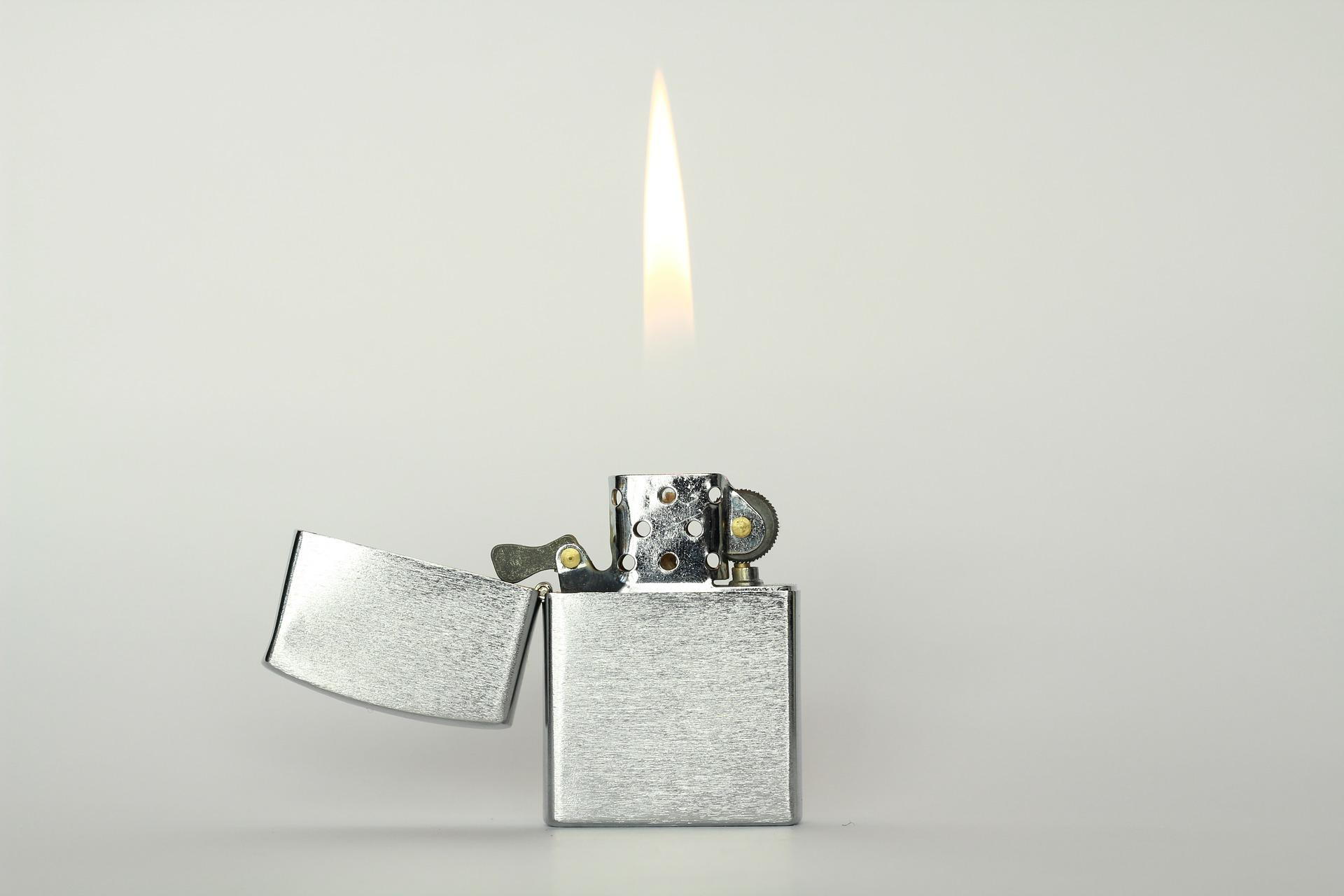 ライター着火ゲーム